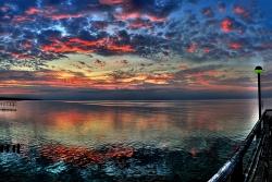 Sonnenabgang Zingst